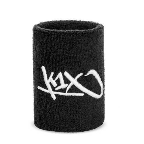 K1x baloncesto WRISTBANDS sudor cintas negro hardwood