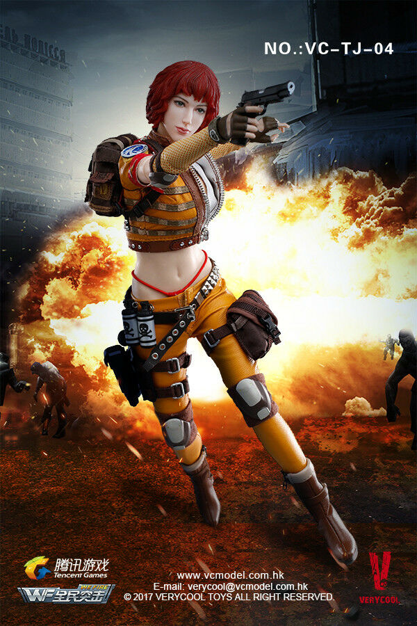 1 6 Very Cool Toys VC-TJ-04 Tencent Game WeFire Fourth Bomb Mercenary Heart King