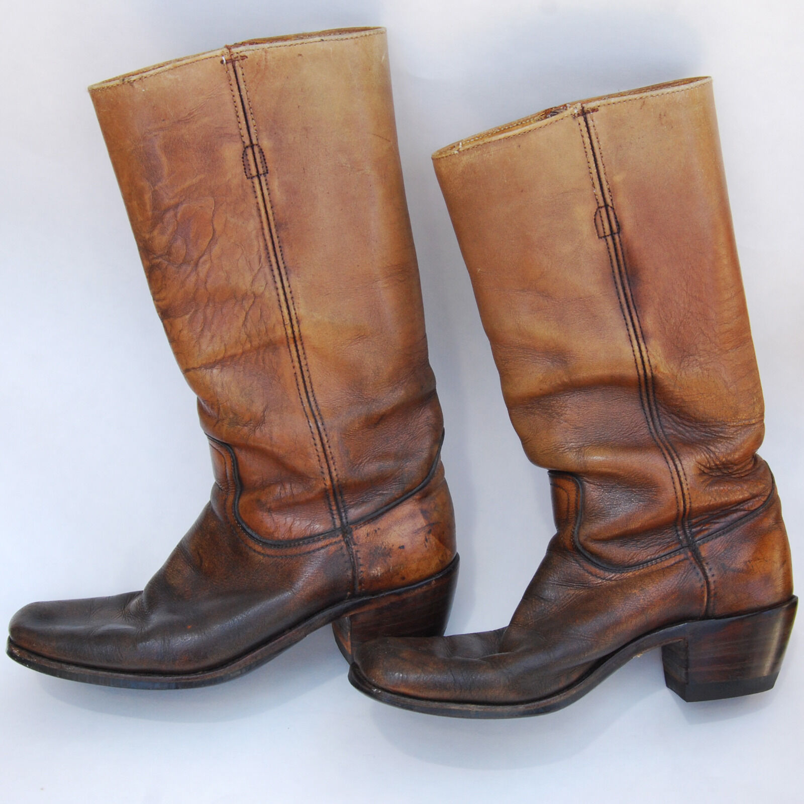 Frye Antigue Original Leather stivali Mens donna Excellent Condition