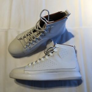ad6fc92a1 Under Armour UA Classic Leather Hi Top Sneaker White Mens 131004-100 ...