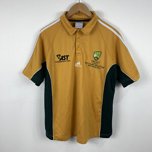 Cricket-Australia-Mens-Shirt-Size-Medium-Adidas-ICC-World-Cup-2007-Limited-Ed