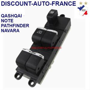 Nissan Qashqai commande Commutateur Platine de Lève vitre bouton interrupteur