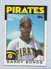 1986 TOPPS XRC TRADED #11T #11 BARRY BONDS Rookie card RC MINT