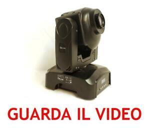 TESTA-MOBILE-DMX-WE-039-LITE-TMX30-a-LED-da-30W-effetto-luce-luci-scanner-PAR-LED-DJ