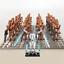 21-Pcs-Minifigures-Star-Wars-Battle-Droid-Gun-Clone-Bonus-Minikit-Lego-MOC miniature 17