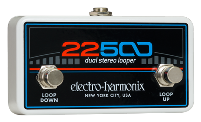 EHX Electro-Harmonix Foot Controller for 22500 Dual Stereo Looper Guitar Pedal