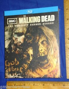 NEW-WALKING-DEAD-SEASON-2-TWO-SECOND-Special-Limited-Edition-Blu-ray-Zombie-Head