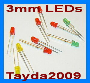 75pcs-25pcs-each-color-LED-3mm-Red-Green-Yellow