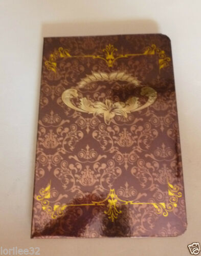BURGUNDY VICTORIAN PAISLEY FLORAL FANCY GILDED FOIL HARDBACK RULED JOURNAL
