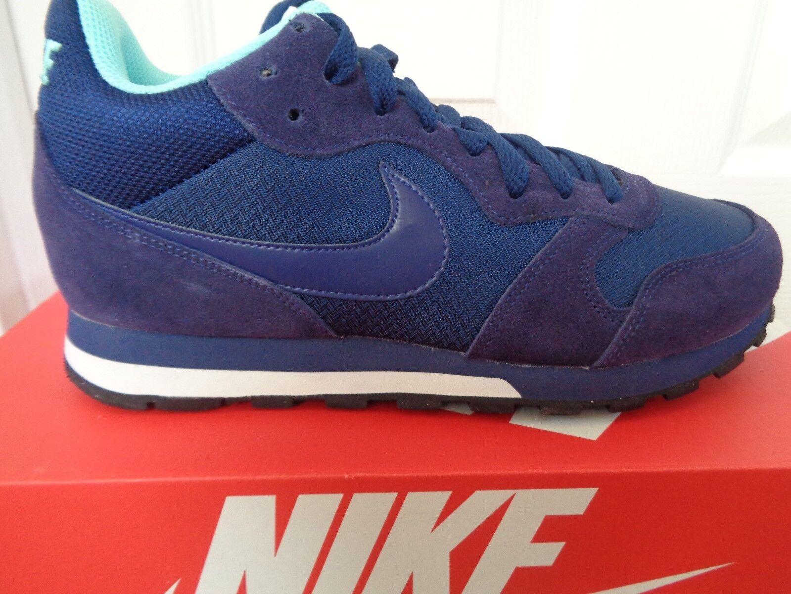 Nike MD Runner 2 Mid Tenis Zapatillas para mujer 807172 443 nos 9 Nuevo