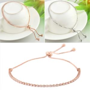 Classic-Women-Rhinestone-Cubic-Zirconia-Bracelet-Fashion-Adjustable-Jewelry-Gift