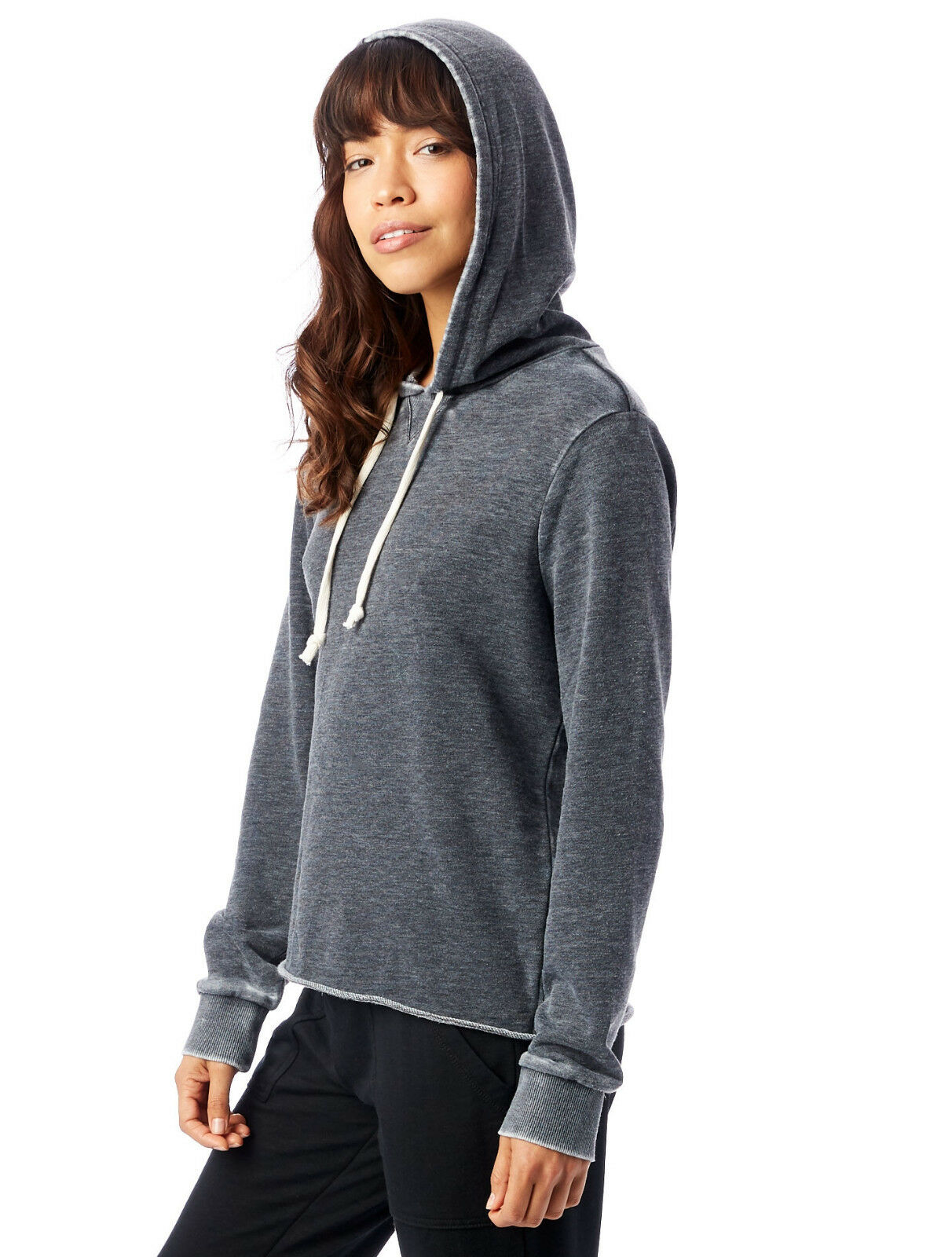 New with Tags Tags Tags Alternative Women's Day Off Burnout French Terry Hoodie  58 Retail 0b7862