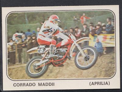 Hot Sale Panini Moto Sport 1979 Sticker To Win Warm Praise From Customers No 185 Corrado Maddii t518 Aprilia