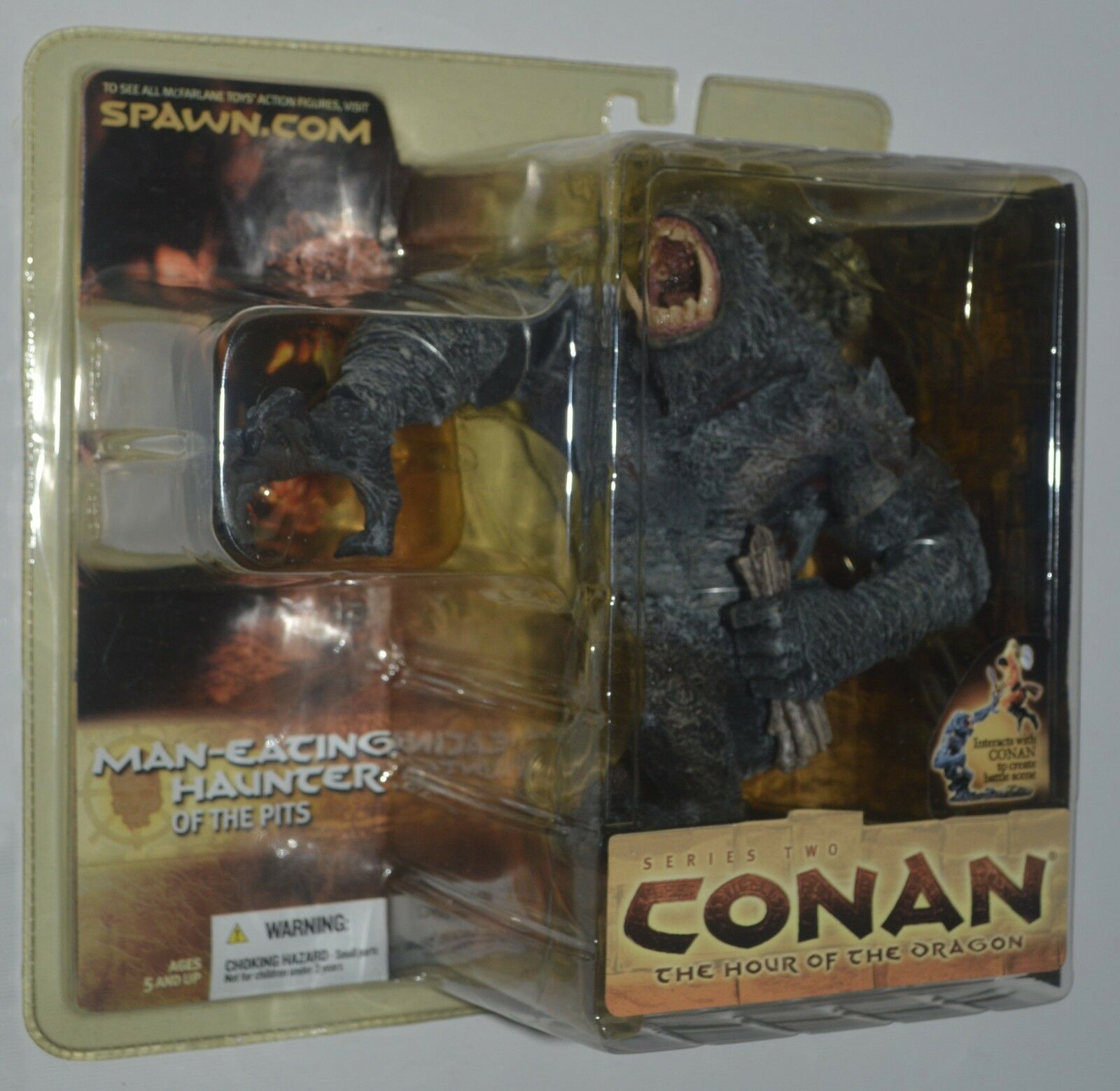 Conan MAN-EATING HAUNTER OF THE PITS Series Two McFarlane Toys MIP