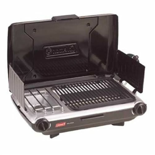 Coleman  Perfect Flow Grill Stove  timeless classic