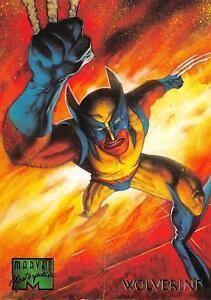 WOLVERINE-1995-Marvel-Masterpieces-Fleer-Base-Trading-Card-112