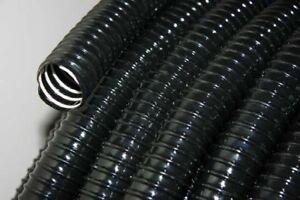 Contemplatif Standard Métrique Côtelé Noir étang Tuyau 1 1/4 Pouces (32 Mm) Ou 98 Ft (environ 29.87 M) (30 M) Bobine-afficher Le Titre D'origine