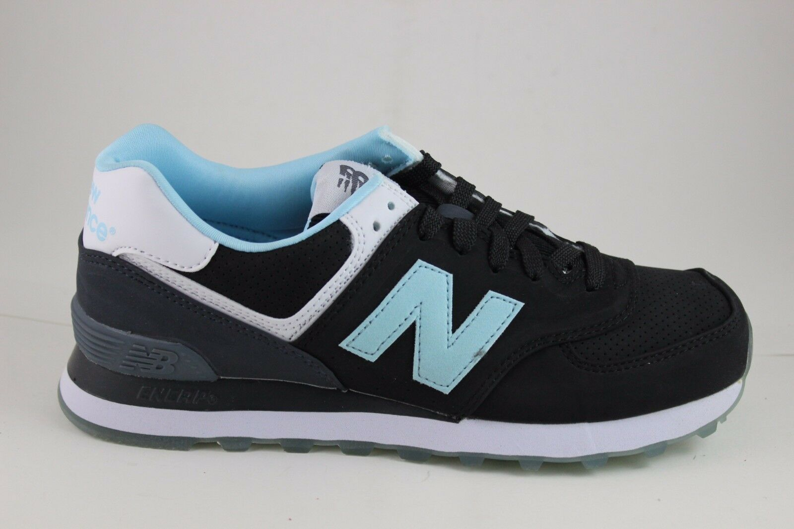 New Balance hommes Classic 574 Boardwalk ML574SAB noir /bleu Brand New