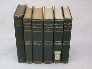 Emanuel-Swedenborg-APOCALYPSE-EXPLAINED-6-Volume-Set-Complete