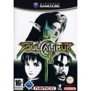 Nintendo-GameCube-Spiel-Soul-Calibur-2-mit-OVP