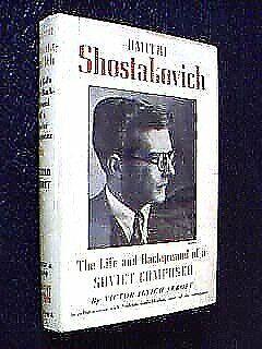 Dmitri Shostakovich Hardcover Victor Seroff
