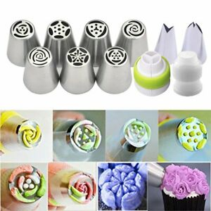 7Pcs-Flower-Russian-Icing-Piping-Nozzles-Pastry-Tips-Cake-Decorating-Baking-Tool