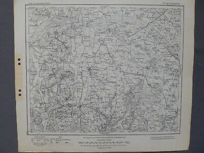 Das Beste Karte Des Deutschen Reiches 279 Popowo - Radziejow, Posen, Westpreußen, 1918