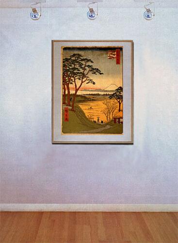 Old Man/'s Teahouse 22x30 Japanese Art Print Hiroshige Asian Art Japan