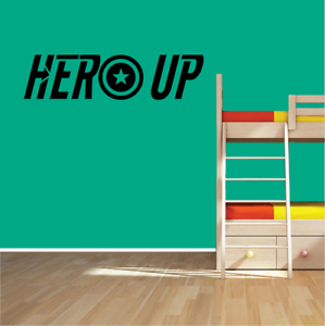 Hero-Up-Heros-Marvel-Vinyl-Sticker-Wall-Decal-Children-Avengers-Superhero
