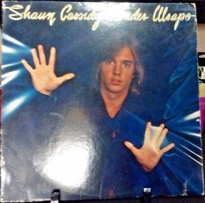 SHAUN-CASSIDY-Under-Wraps-Album-Released-1978-Vinyl-Record-Collection-USA