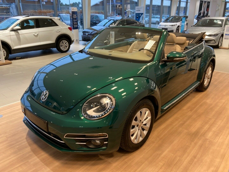 VW The Beetle 1,2 TSi 105 Life Cabriolet DSG 2d - 0 kr.