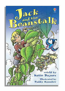 Jack-and-the-Beanstalk-Usborne-Young-Reading-by-Fiona-Watt-NEW-Book-FREE-amp-F