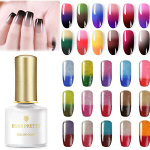 BORN-PRETTY-Nail-UV-Gel-Polish-Thermal-Color-Changing-Glitter-Shimmer-Soak-Off