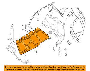 vw volkswagen oem jetta splash shield under engine center shield 2001 VW Jetta Engine Diagram image is loading vw volkswagen oem jetta splash shield under engine
