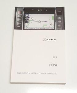 lexus es 350 navigation system