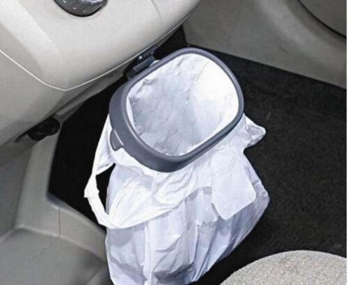 Universal Car Garbage Trash Carry Bag Sucker Trash Can Rack Hanger Organizer Y