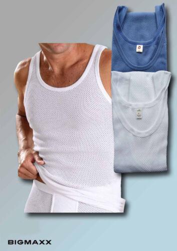 Uomo bianca sotto Camicia rippunterhemd Sotto Camicia bellaripp Rete Camicia Taglia 5 a 10