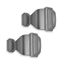 Cambria® Classic Complete Napoleon Finial in Brushed Nickel (Set of 2)