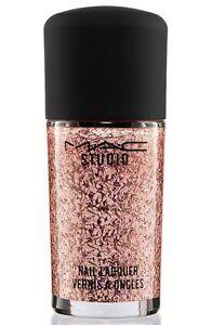 MAC-Studio-Nail-Lacquer-Nail-Polish-OVER-ACCESSORIZED-Pink-Glitter-NEW-BOX