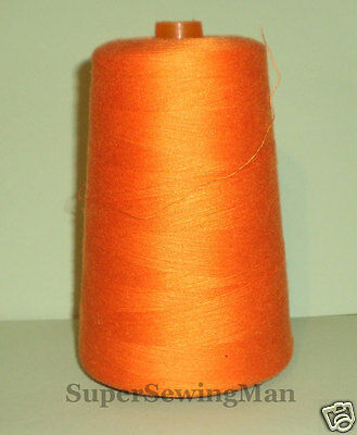 HEAVY DUTY INDUSTRIAL SEWING MACHINE THREADS SIZE T-60 COLOR orange 30//3