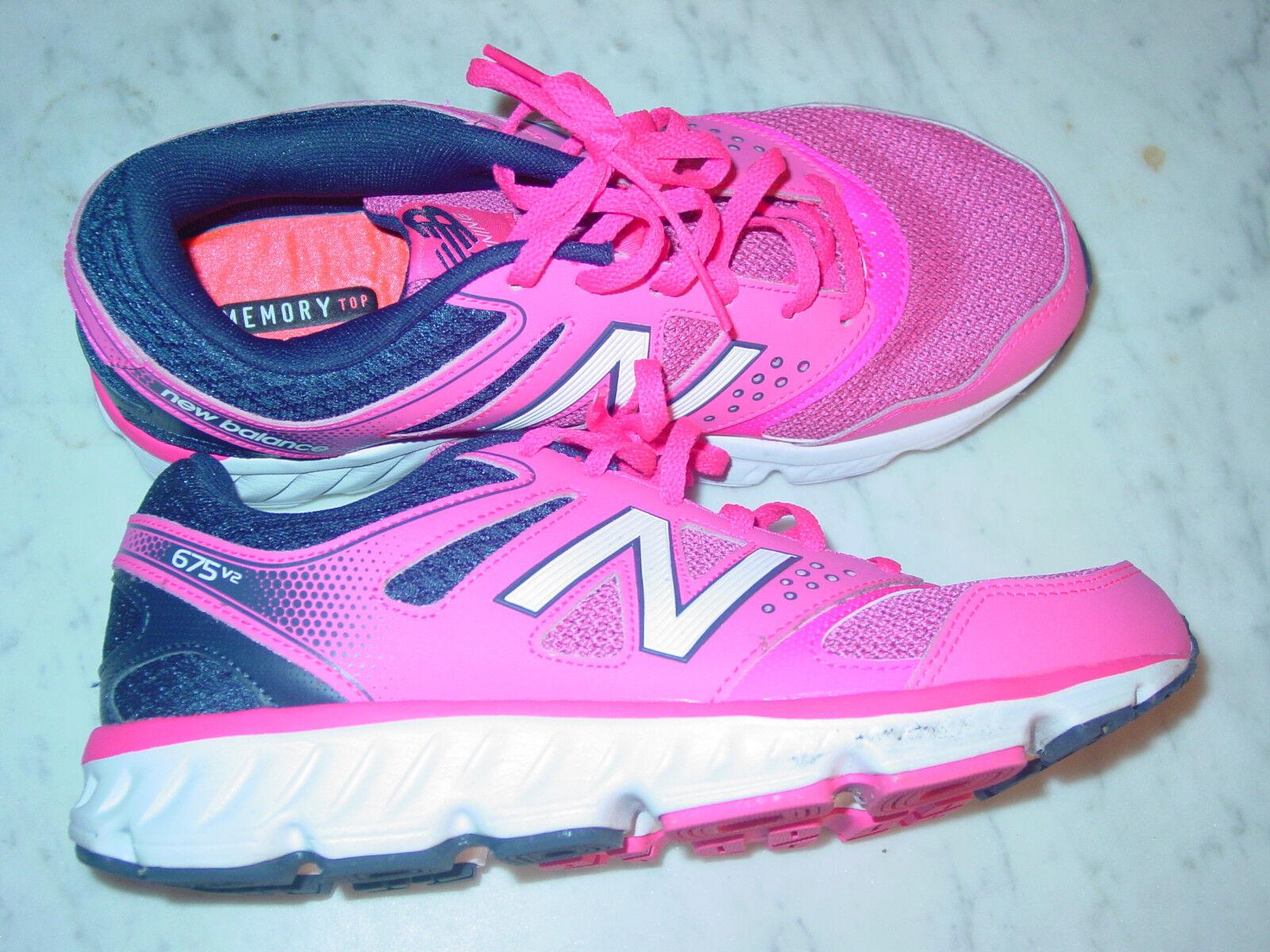 2015 damen damen damen New Balance 675  W675PN2  Rosa Navy Blau Running schuhe  Größe 10 641876