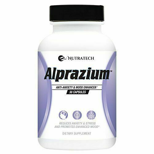 Alprazium All Natural Stress Relief And Anti Anxiety Supplement For Sale Online Ebay