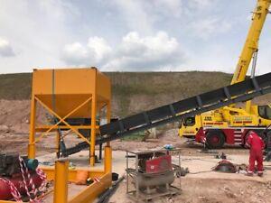 Details about Bulk Hopper 10 ton Bulk Hopper Heavy Duty / Screener