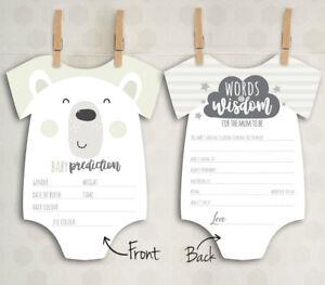 x10-Baby-Shower-Prediction-Words-of-Wisdom-Game-Cards-Mum-Boy-Girl-Unisex-C1