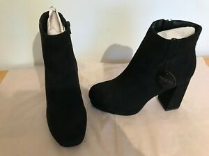 new look platform ankle boots