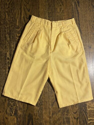 Vintage Nest Ce Pas Yellow Woman Shorts