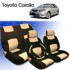 2001 2002 2003 2004 For Toyota Corolla P Leather Seat Cover