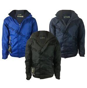 Mens-Regatta-Dover-Hydrafort-Waterproof-Fleece-Lined-Jacket-Outdoor-Work-Coat