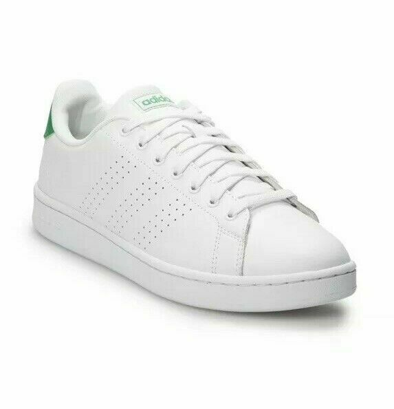 escapar Abrumador nativo  adidas Neo Cloudfoam Advantage Clean White/green Aw3914 8.5 for sale online  | eBay