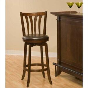Pleasing Details About Hillsdale Savana 25 Swivel Counter Stool In Cherry Creativecarmelina Interior Chair Design Creativecarmelinacom